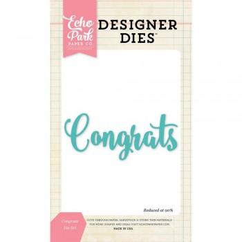 Congrats,diecut,scrapbook,bigshot,cardmaking,snailmail