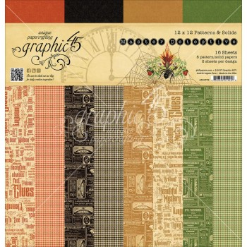 Master Detective Print/Solid, 12 Designs