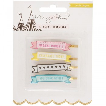 Carousel Banner Clips ,clip,paper,scrapbook,planner,diary,snailmail,papercraft,