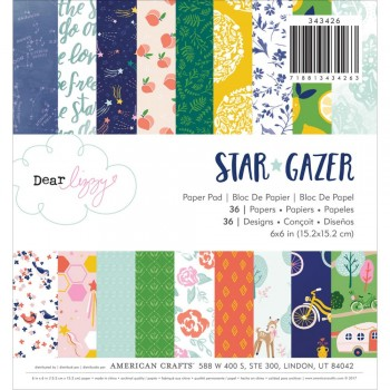 Dear Lizzy Star Gazer,paper,craft,diy,planner,scrapbooking,diary,scrapbook,snailmail,cardmaking