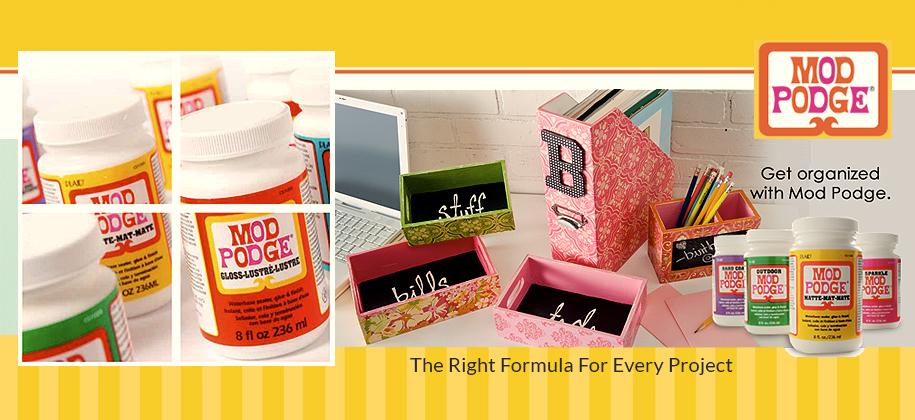 Mod Podge Best Glue Formular Gross and Matte